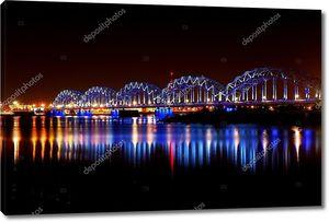 Панорама ночной Риги