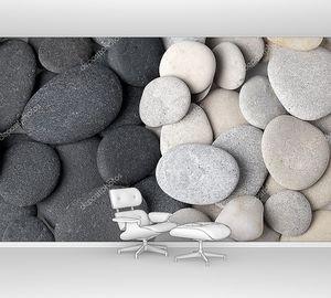 черно-белые камни фон
