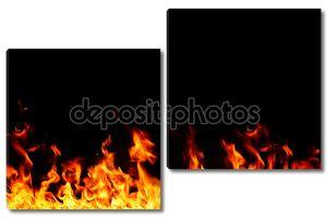 структура пламени