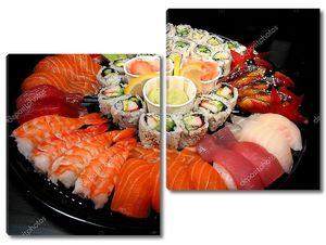 поднос стороны суши
