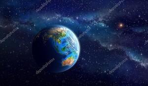Земля в глубоком космосе