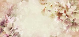 Крупные цветы