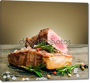 срез говяжий стейк