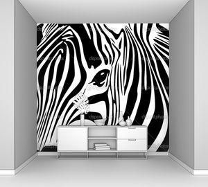 Зебра в Африке