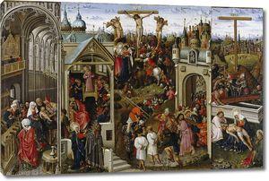 Алинкброт Луис. Триптих со сценами из жизни Христа