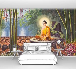 Картина Ханумана на Храм Изумрудного Будды, Бангкок