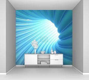 Синий тоннель