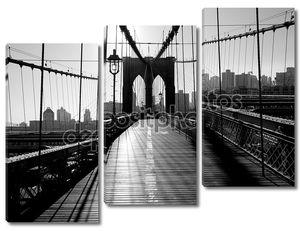 Бруклинский мост, Манхэттен, Нью-Йорк, США