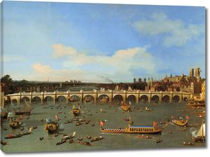 Каналетто. Вестминстерский мост в Лондоне
