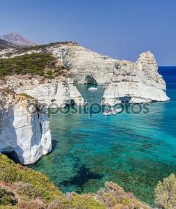Клефтико, Милос острова, Киклады, Греция