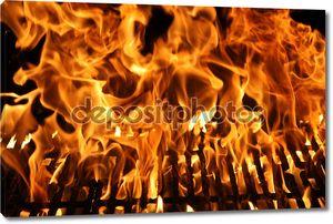Пламя Барбекю