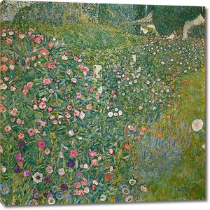 Густав Климт. Итальянский садик