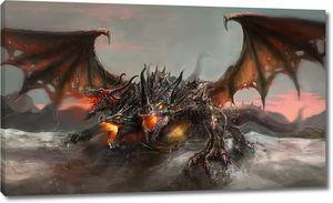 три возглавляемых дракона