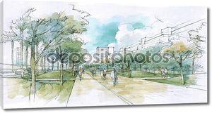 Прогулка в городе