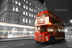 Автобусный маршрут Лондон