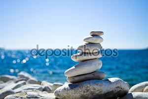 камни стека, Хорватский пляж