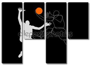 Баскетболистов