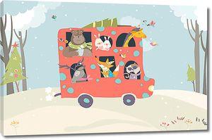 Автобус для зверей