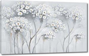 Шапки цветов на тонких стеблях