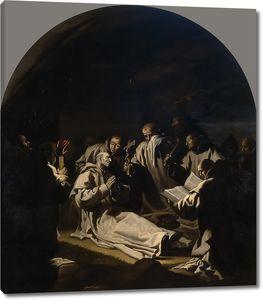 Кардучо Висенте. Смерть св Бруно