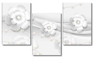Цветы и бусинки