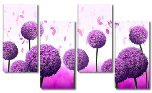 Шары цветы