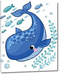 Мультфильм молодых китов
