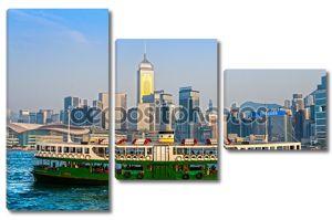 гонконгская гавань.