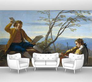 Кастильо Хосе дель. Два музицирующих мальчика