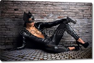 Девушки в костюм Женщины-кошки