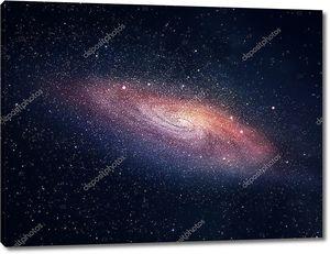 спиральные галактики с мириадами звезд