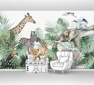 Акварельные джунгли