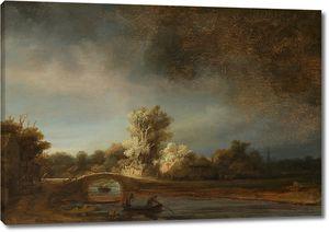 Рембрандт. Каменный мост