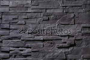 Текстура серый каменной стены