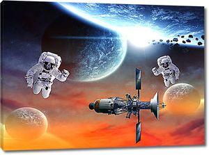 Два космонавта