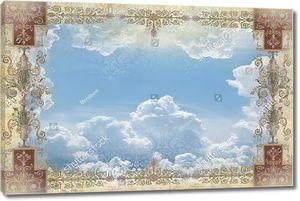 Небо с классическим узором