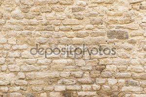 Фоновая текстура, стена бледно природного камня