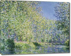 Моне Клод. Изгиб реки Эпт, 1888