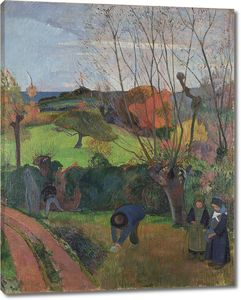 Поль Гоген. Осень в Бретани (Ива)