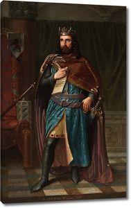 Фресно Херонимо. Бермудо II Подагрик, король Галисии и Леона
