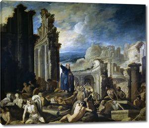 Кольянтес Франсиско. Видение Иезекииля: воскресение умерших