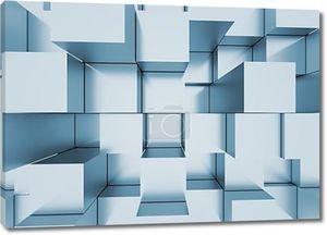 абстрактный мозаичный фон серо-голубой