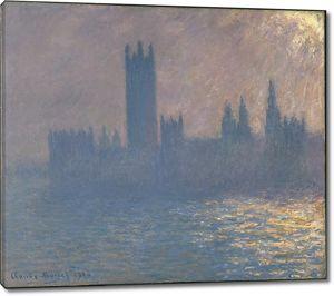 Моне Клод. Парламент, Солнечный Эффект, 1903