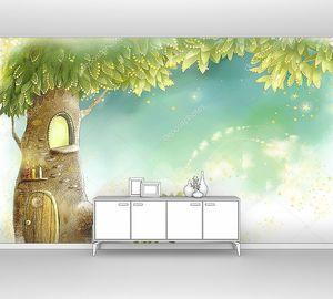 Домик  на  сказочном дереве