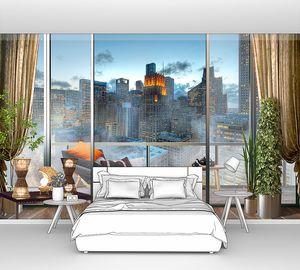 Современный балкон в Мегаполисе