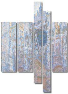 Моне Клод. Руанский собор, западный фасад