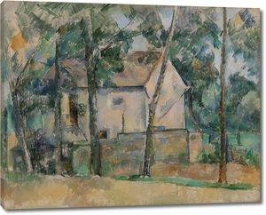 Поль Сезанн. Дом и деревья