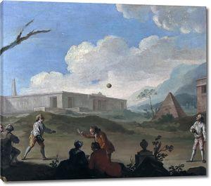 Флипар Шарль Жозеф. Игры с мячом