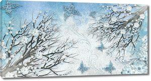 Зимняя фреска