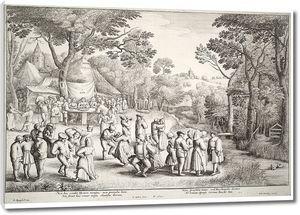 Брейгель. Ученики Крестьянская свадьба